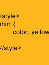 Styles guides for html