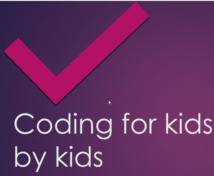 Coding for Kids by Kids